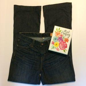 Gap Jeans Ladies Size 6 R Long Lean Stretch